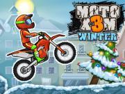 Moto X3M 4 Kış oyunu