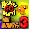 Maymunu Mutlu Et 11: Minik Maymunlar 3 oyunu oyna